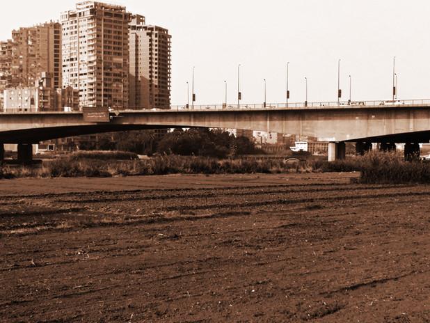 Geziret Al Dahab 2 - View from island towards bridge