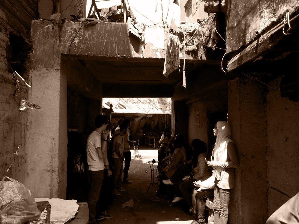 Ezbet Abu Qarn 8 - Alley