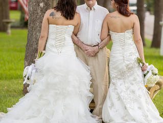 Single Daughters Take Wedding Photos With Dad Who Has Alzheimer's