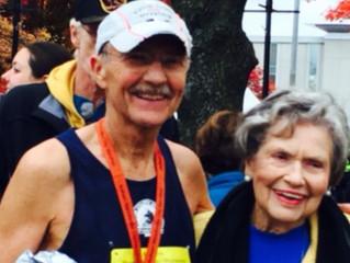 73 year old runs 50 marathons!