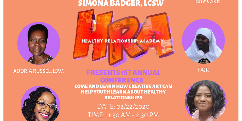 Youth Conference (HRA) TEEN DATING VIOLENCE AWARENESS MONTH
