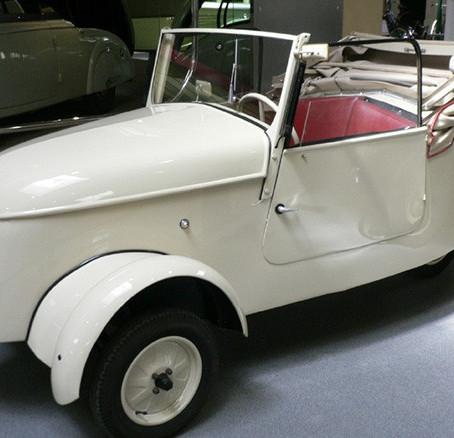 El primer coche eléctrico. Peugeot VLV de 1941