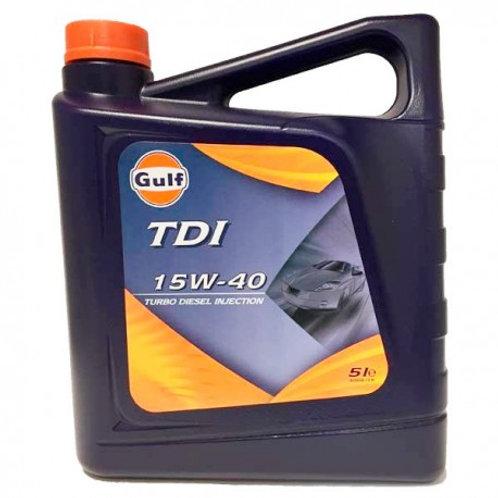 Gulf TDI 15w40 5L