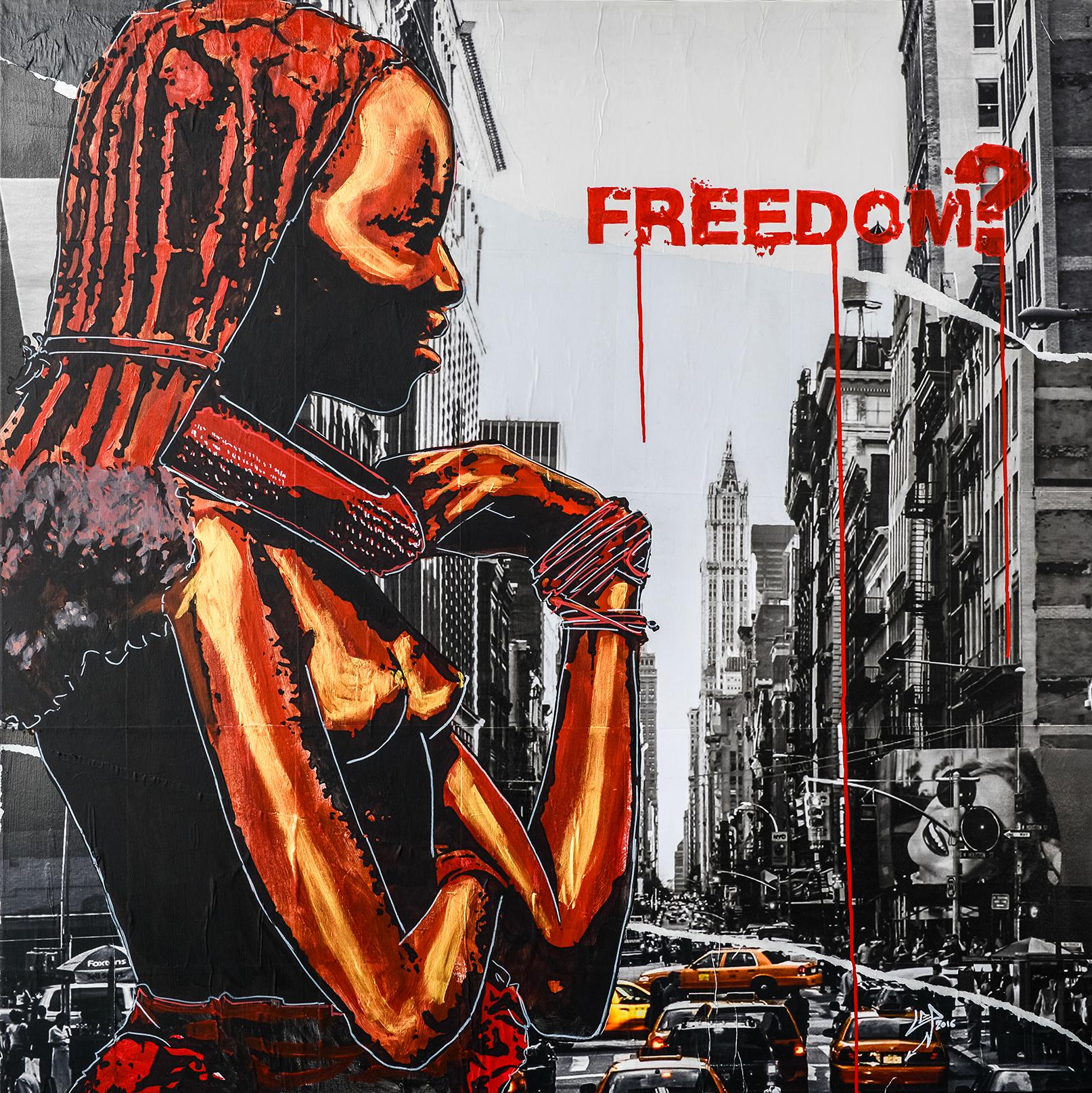 89 #FREEDOM? /© Loic Ercolessi
