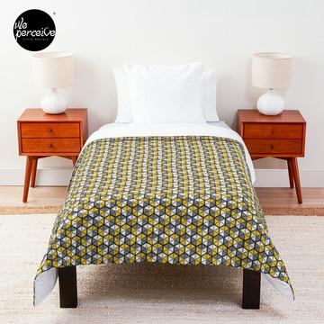 Geometric Cubes Comforter