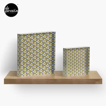 Geometric Cubes Acrylic Block