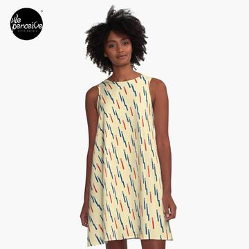 KEEP CALM AND GO VINTAGE A-Line Dress