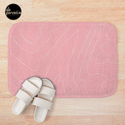 Psychology Things SPECIAL PINK Edition - Maslow's HIERARCHY of NEEDS Bath Mat