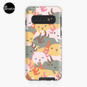 AXOLOTL WAVE - We are the CUTEST CREATURE in the Water World Case & Skin for Samsung Galaxy