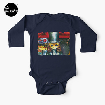 Movie inspired collection - Dracuzard - Count Dracula Baby One-Piece in dark blue