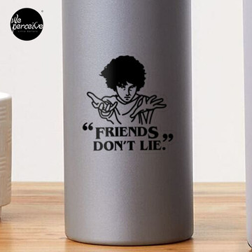 TV series inspired collection - Stranger things - FRIENDS DON'T LIE Sticker