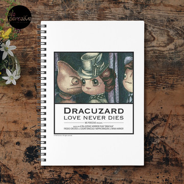 Movie inspired collection - Dracuzard - Mina Harker Spiral Notebook