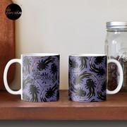 WE LOVE M.C. ESCHER style - Axolotl symmetrical pattern Mug