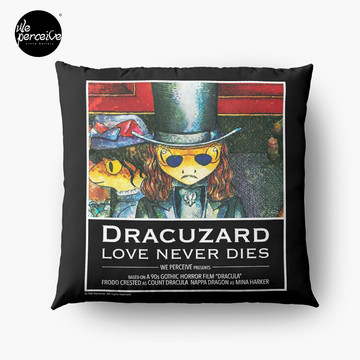 Movie inspired collection - Dracuzard - Count Dracula Throw Pillow