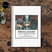 Movie inspired collection - Dracuzard - Count Dracula Spiral Notebook