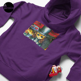 Movie inspired collection - Dracuzard - Count Dracula Toddler Pullover Hoodie in Purple