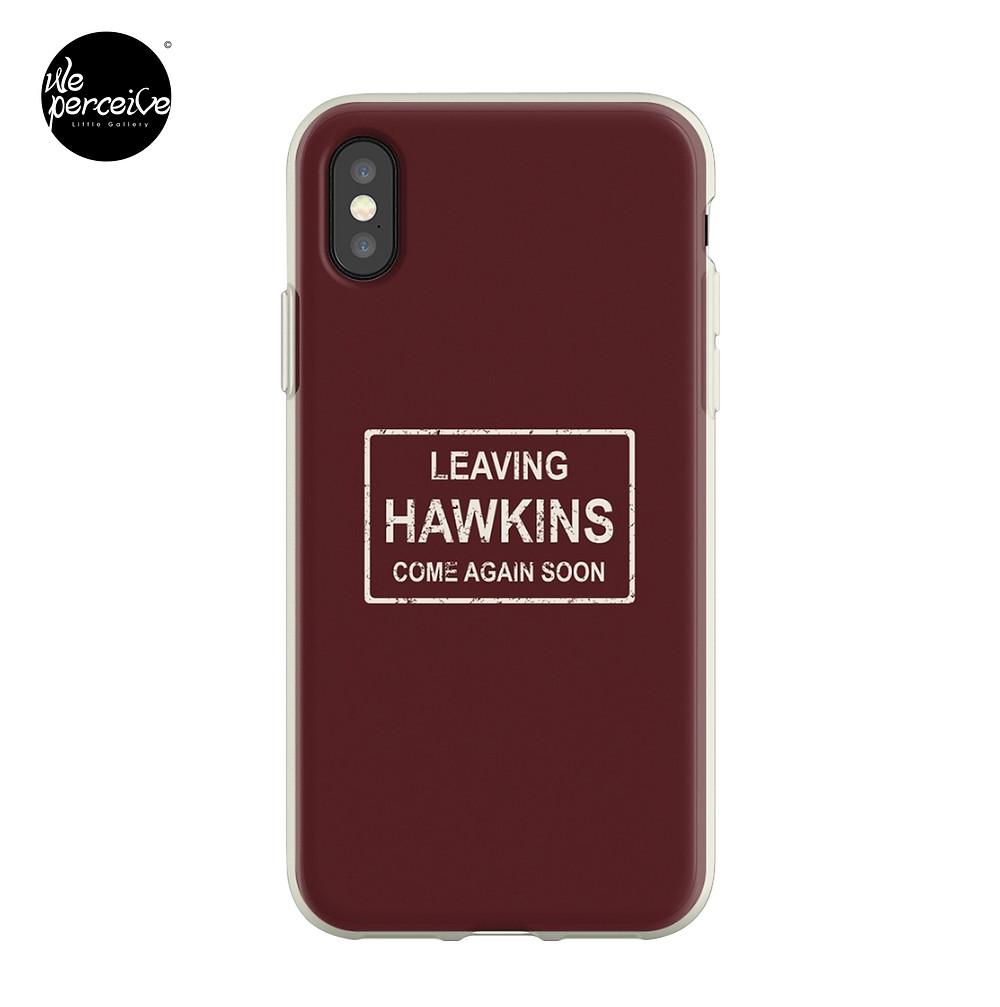 Stranger Things Leaving Hawkins iPhone Case