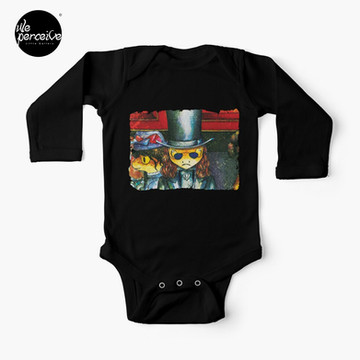 Movie inspired collection - Dracuzard - Count Dracula Baby One-Piece in black