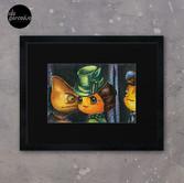 Movie inspired collection - Dracuzard - Mina Harker Framed Art Print