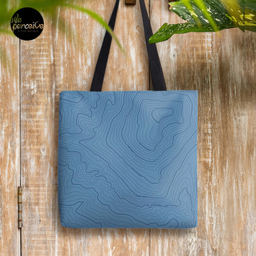 Psychology things - Maslow's HIERARCHY of NEEDS - Dark Blue Tote Bag