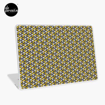 Geometric Cubes Laptop Skin