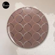 Minimal Circle Pattern in Mocha Pin