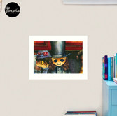 Movie inspired collection - Dracuzard - Count Dracula Art Print