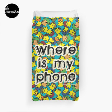 Welcome to SOCIAL MEDIA ERA - Where is my PHONE? Duvet Cover