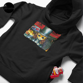 Movie inspired collection - Dracuzard - Count Dracula Toddler Pullover Hoodie in Black
