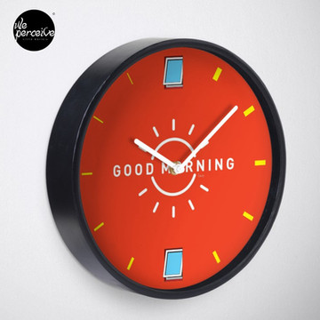 Good Morning, my city. Clock