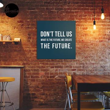 Create the future canvas print
