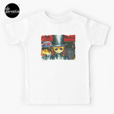 Movie inspired collection - Dracuzard - Count Dracula Baby T-Shirt in white