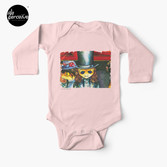 Movie inspired collection - Dracuzard - Count Dracula Baby One-Piece in pink