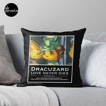 Movie inspired collection - Dracuzard - Mina Harker Throw Pillow