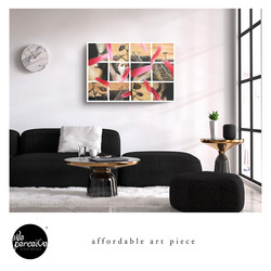 Affordable art piece printing on canvas.