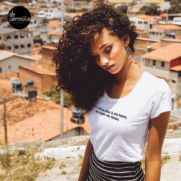 Create the future Tshirt in white