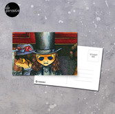 Movie inspired collection - Dracuzard - Count Dracula Postcard