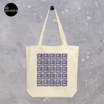 ECO TOTE BAG made with 100% ORGANIC COTTON