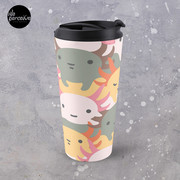 AXOLOTL WAVE - We are the CUTEST CREATURE in the Water World Travel Mug