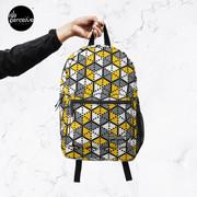 Geometric Cubes Backpack