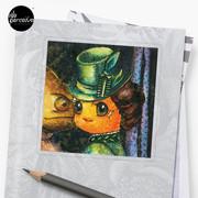 Movie inspired collection - Dracuzard - Mina Harker Sticker