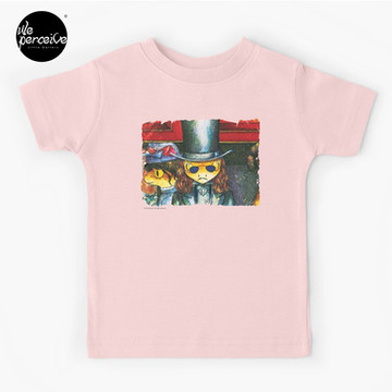 Movie inspired collection - Dracuzard - Count Dracula Baby T-Shirt in pink