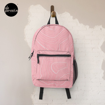 Psychology Things SPECIAL PINK Edition - Maslow's HIERARCHY of NEEDS Backpack