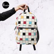 We LOVE the 80s - VINTAGE grid pattern Backpack
