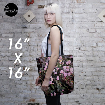 Floral tote bag 3 sizes available