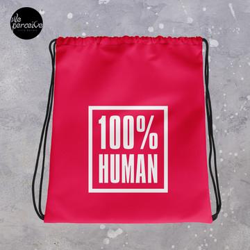 Drawstring Bag for Gym, Sport, Swim | Minimal Style Beach Bag | Minimal Backpack | Quote | Unisex