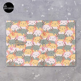 AXOLOTL WAVE - We are the CUTEST CREATURE in the Water World Hardcover Journal
