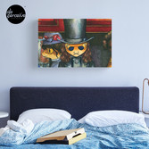 Movie inspired collection - Dracuzard - Count Dracula Canvas Print