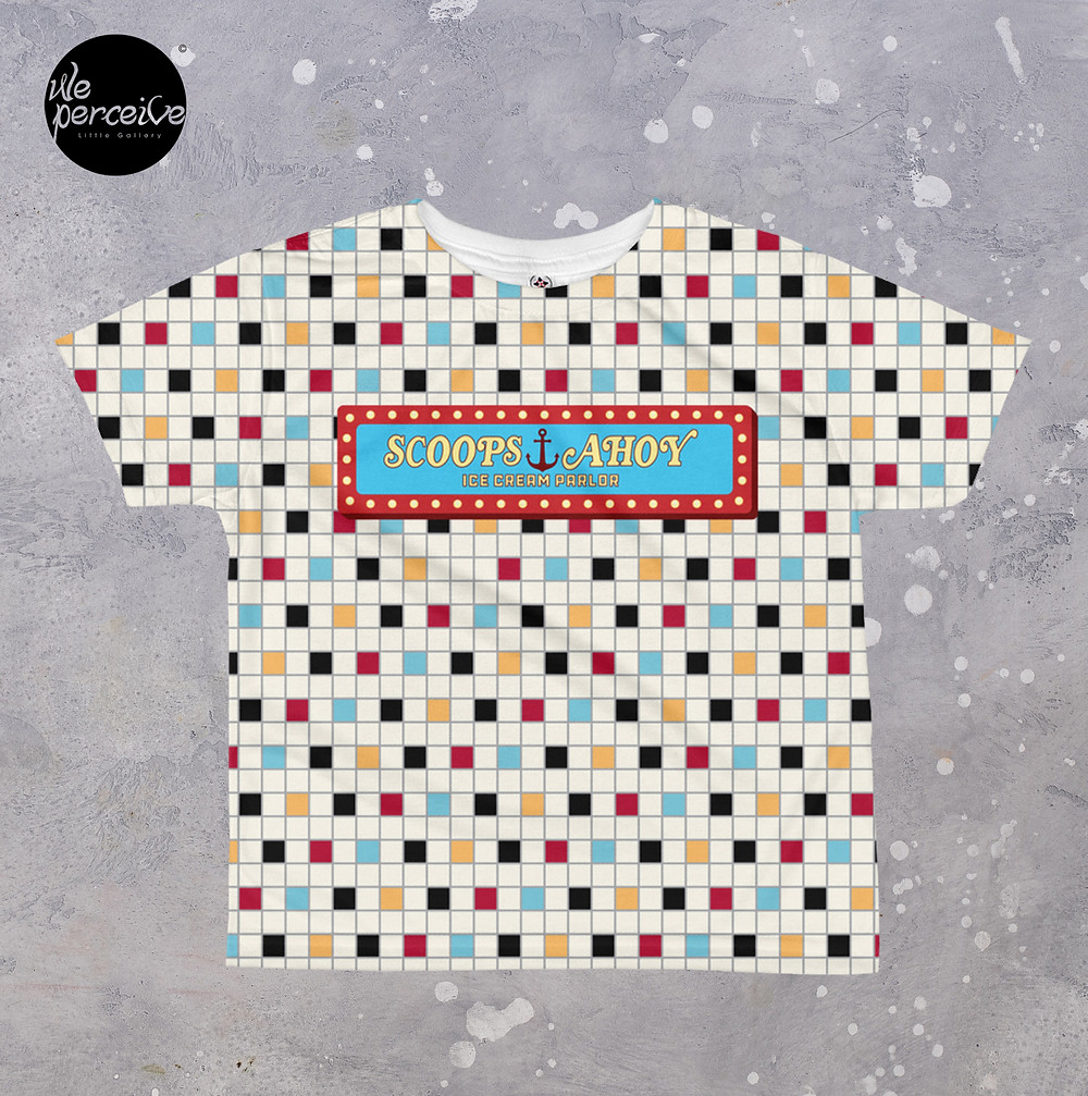 Scoops Ahoy All-over print Kids T-shirt