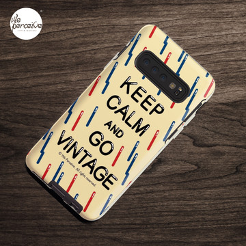 KEEP CALM AND GO VINTAGE Case & Skin for Samsung Galaxy